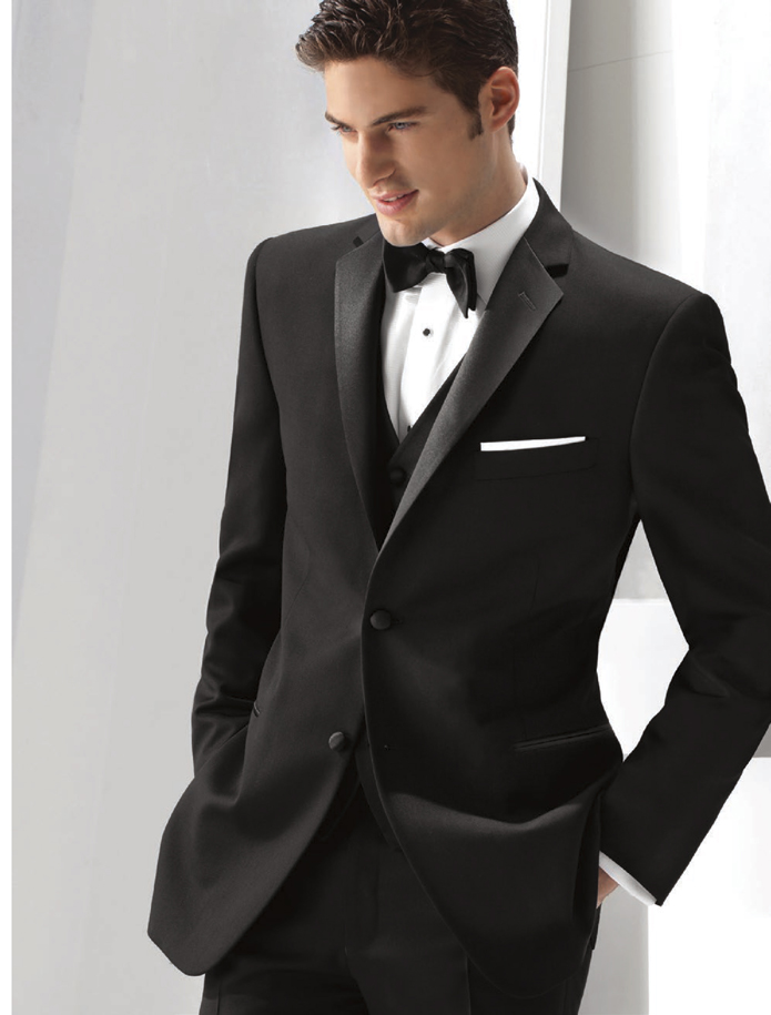Ike Behar Evening Black 'Parker' Tuxedo