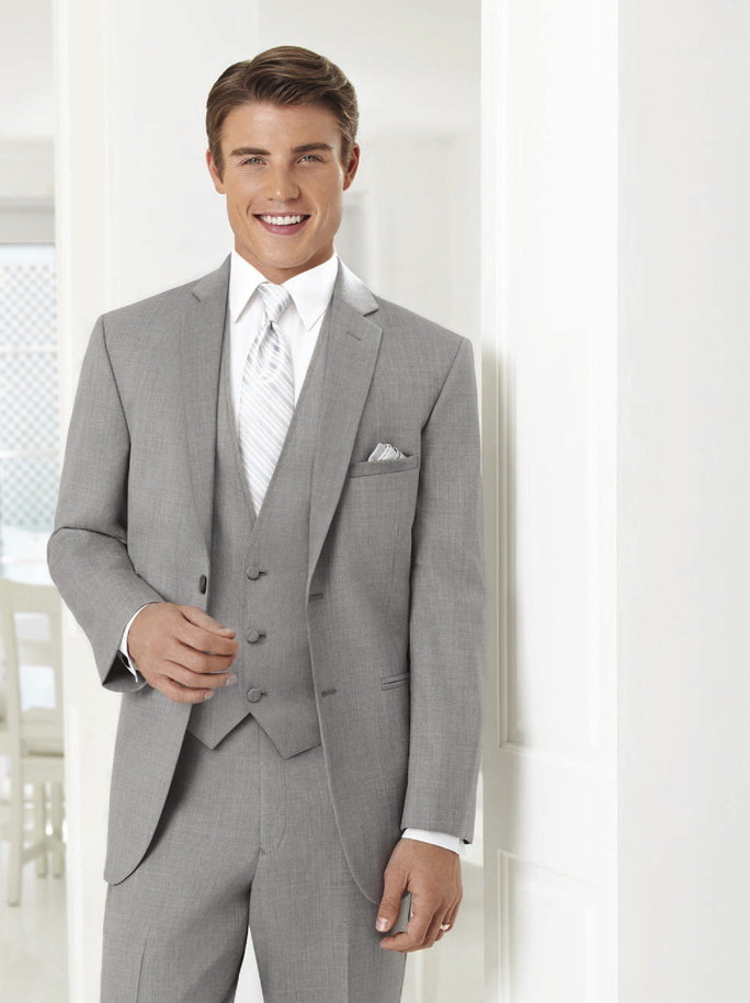 Jean Yves Heather Grey 'Twilight' Suit